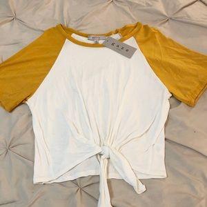 Soft cotton top